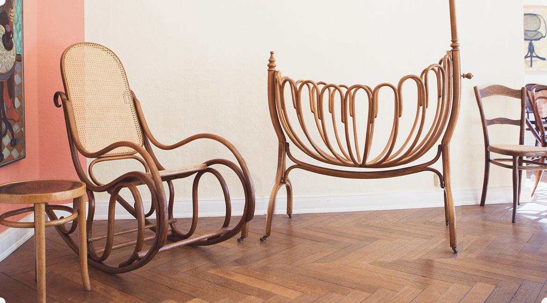 Der Stuhl Flechtarbeiten Restaurierung Und Verkauf Alter Thonet